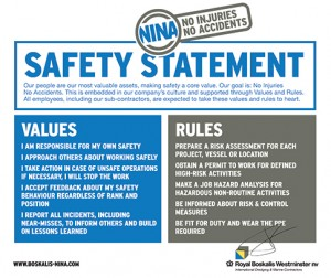 NINA Safety Statement