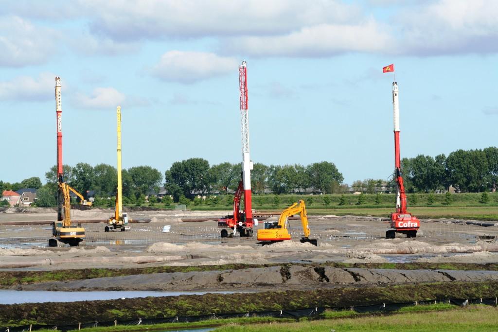 Verticale drainage Volendam Broeckgouw